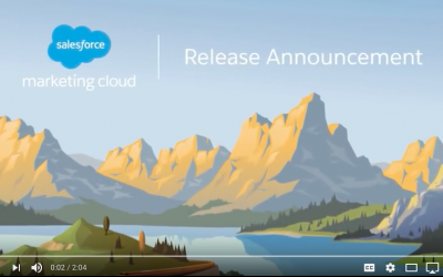 Marketing Cloud Release – April 21 2018